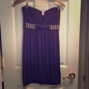 Sky Mini Strapless Dress